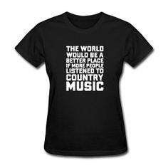 c29dbb5ab4 Listen to Country Music by DJ-Balogh | Spreadshirt. All Blacks ShirtRapFunny  ...