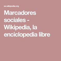 Marcadores sociales - Wikipedia, la enciclopedia libre