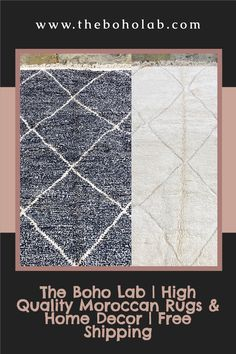 From black to white, we got any rug color you can imagine