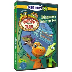 The Official PBS KIDS Shop | Dinosaur Train Dinosaurs Under the Sea DVD - DVDs - DVDs, Blu-ray & CDs