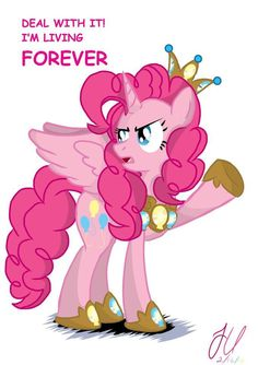 Alicorn Pinkie is a scary thought.