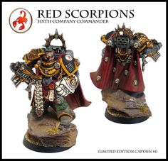 Red Scorpions Sixth Company Commander | Flickr - Photo Sharing!
