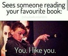 Home Hooked to Books Mortal instruments funny, The mortal instruments, Book memes, Percy jackson, Book. 9gag Funny, Stupid Funny Memes, Funny Relatable Memes, Meme Comics, Book Memes, Book Quotes, Humor Books, Mortal Instruments Funny, Best Book Reviews
