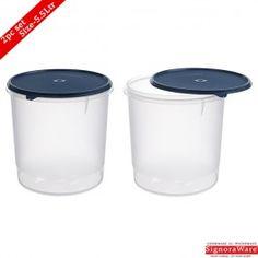 Signoraware Round Modular Container Ltr Set of 2 Pcs Buy Kitchen, Kitchen Items, Kitchen Utensils, Kitchen Appliances, Kitchen Storage Containers, Storage Sets, Kitchenware, Diy Kitchen Appliances, Diy Kitchen Appliances
