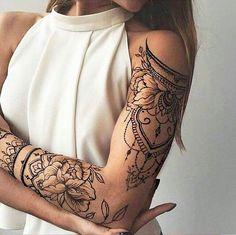 Super tattoo frauen blumen oberarm ideas - My list of the most creative tattoo models