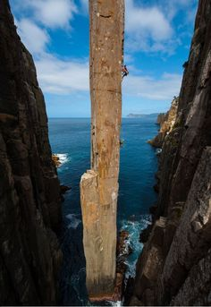 The Totem Pole in Tasmania, Australia. [634x922] Photo by Simon Carter.