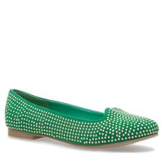 studded flats - they would have a nice shimmer to them