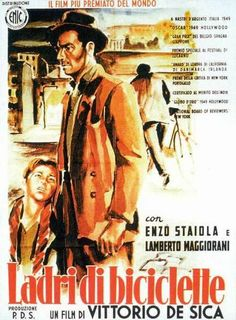 Bicycle Thieves 自転車泥棒 (1948 Italy)