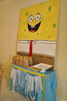 "Photo 24 of 48: Spongebob Square Pants / Birthday ""SpongeBob Birthday Party"" 