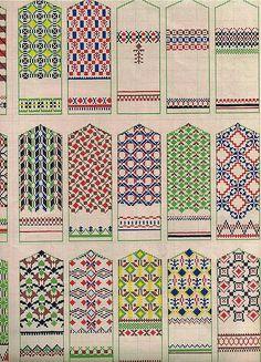 Raksti - A K - Álbuns Web Picasa Knitting Charts, Knitting Stitches, Hand Knitting, Crochet Stitches Patterns, Cross Stitch Patterns, Knitting Patterns, Knitted Mittens Pattern, Crochet Mittens, Fair Isle Pattern