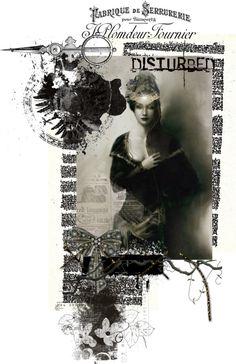 """Disturbed Diva"" by esteladesign ❤ liked on Polyvore"