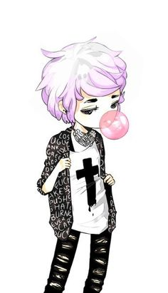 † Pastel Goth | Grunge | Street Fashion † | VK [This is how I aspire to look on days I'm not feeling so girly]