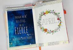 April Bullet Journal Set Up & March Flip Through