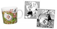 Moomin summer mug 2016 by arabia