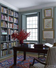 21 Unique Styling Ideas For Your Bookshelves - ELLEDecor.com