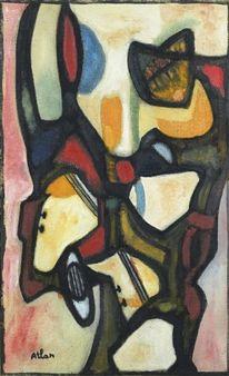 Calypso II By Jean-Michel Atlan ,1956