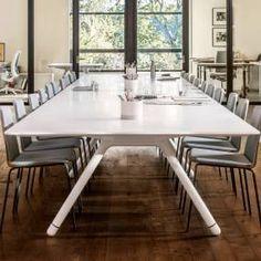 Protrero415 Table + Montero650 Seating Collaboration Spaces