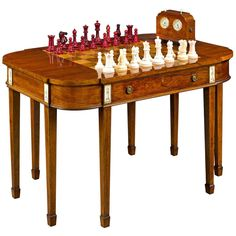 Jaques of London Chess Set Made for Joaquin Amarro