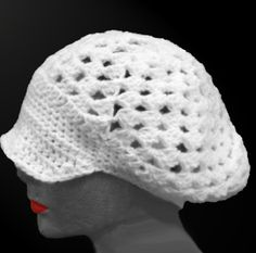 A spring hat, inspired by all of those who told me that it's too hot to be wearing hats :)