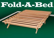 New Fold-a-bed, Full Size Frame- The Perfect Guest Bed
