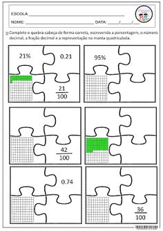 SOS PROFESSOR-ATIVIDADES: Quebra-cabeça matemático