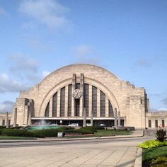 #Cincinnati Museum Center- where we had our wedding reception, and where gpa Elmer left for WWII