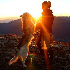 Sunrise on the top <3  Serles 2718 in Stubai Alps!