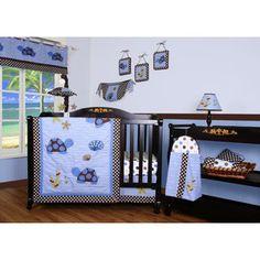 Geenny Boutique Sea Turtle 12 Piece Crib Bedding Set