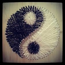 string art yingyang - Google Search