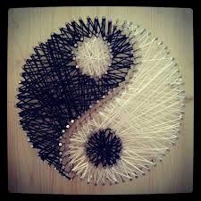 string art yingyang - Google Search