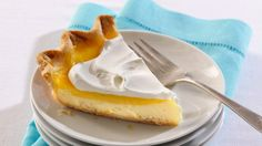 Looking for a dessert made using Pillsbury® pie crusts? Then check out this lemon layered cream cheese pie – a cool treat.