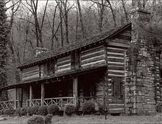 Trail of Tears John Ross house prior to relocation