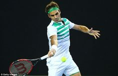 Things didn't get much better for Federer in the second as he was broken twice again before losing 6-2