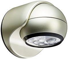 LIGHT IT by Fulcrum 20031-101 6-LED Wireless Motion Sensor Weatherproof Porch Light, Silver, Wall Lights - Amazon Canada