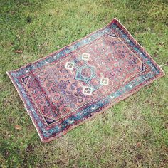 Antique Handmade hand knotted Persian Sarouk Carpet Area Rug listed by surfbeaver, $185.00. This would look great in your home or office!