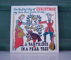 Robert Darr Wert 12 Days Christmas Partridge Pear by 2numerous