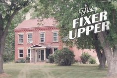 Another Friday, another fixer-upper! And what a great piece of Midwestern history do I have to share with you today. An hour's drive from Cedar Rapids, this Greek Revival beauty in Manchester, Iowa was built as a stagecoach inn in 1856. A stagecoach inn! I'm ...