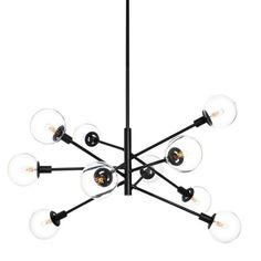 Bubble Glass Chandelier | Sputnik Lighting, Retro-Modern Chandelier