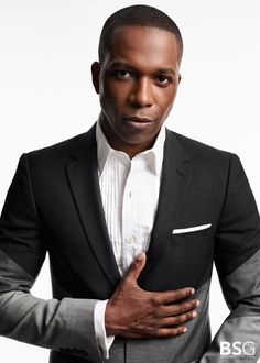 Leslie Odom Jr. in the studio with Broadway Style Guide