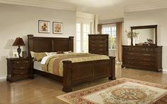 Perry (4131) 5 Pc Queen Set