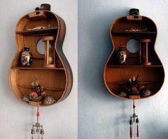 Zobacz zdjęcie półka z gitary, piękna ale trzeba mieć serce nawet starą gitarę zniszczyć :) w pełnej rozdzielczości