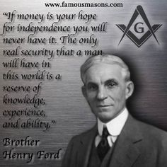 Brother Henry Ford