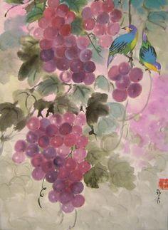 Art work by Lian Zhen