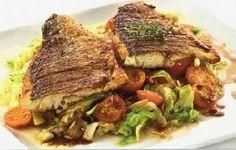 Aljašská treska / Alaskan cod Fish And Seafood, Cod, Beef, Meat, Cod Fish, Atlantic Cod, Steak