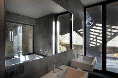 Interior aspect of ALTWS 0619 residential house in Luxembourg by Steinmetz De Meyer