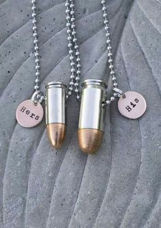 His & Hers Bullets! Accessorize!