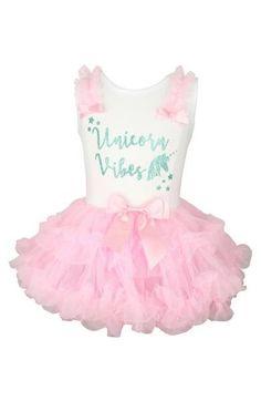 151836099a Popatu Unicorn Vibes Tutu Dress (Baby Girls) | Nordstrom