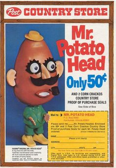 Toys - Mr. Potato Head