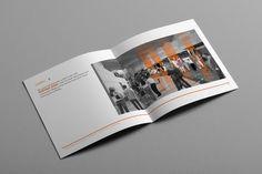 Architectural Design Book by Adam Wells, via Behance