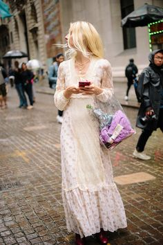 f5d72a6e59e The Best Street Style Coming Out of New York Fashion Week